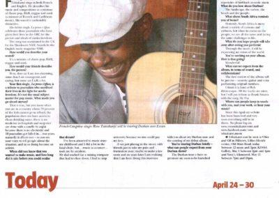 rene tshiakanyi 2011-04-24-SundayTribune